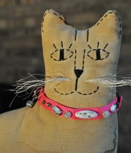gemstone cat collar