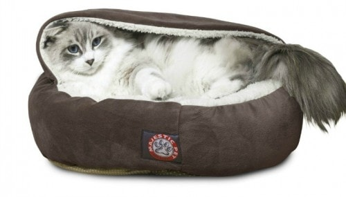 Cozy Cat Beds For Cats Who Are Cavers The Conscious Cat