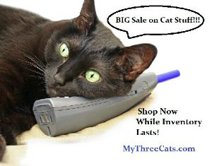 MyThreeCats.com ad resized
