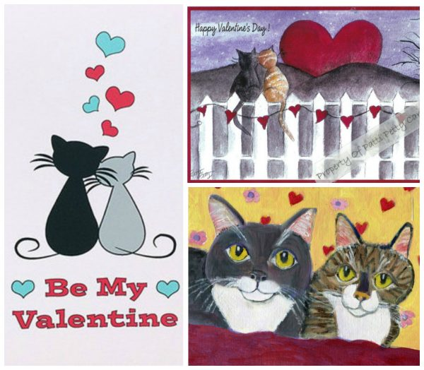 valentines day cat greeting cards the conscious cat