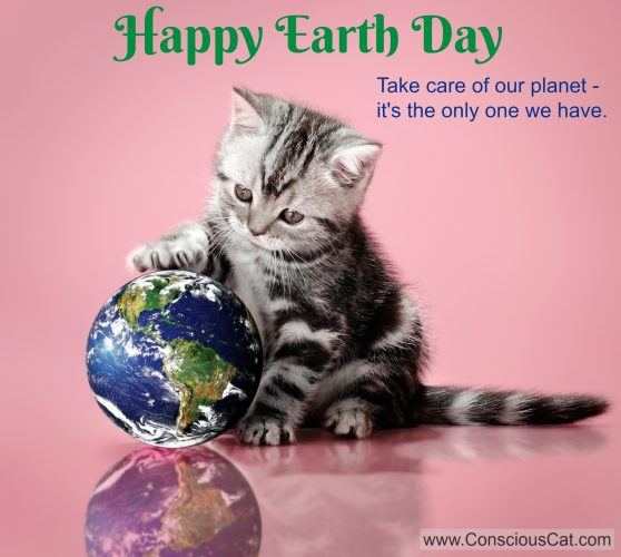 Mews And Nips: Happy Earth Day!