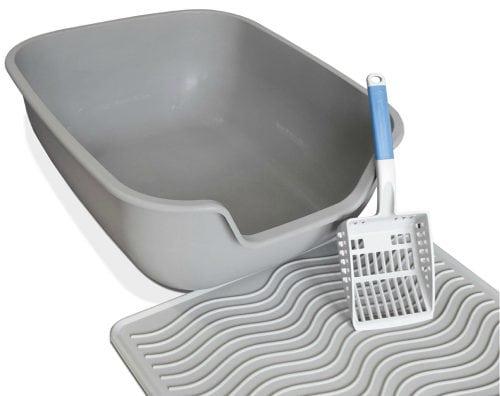 Review Petfusion Toughgrip Litter Mat And Quickscoop