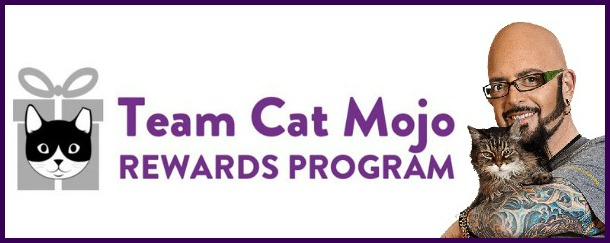 New from jackson galaxy join the team cat mojo rewards for Jackson galaxy cat mojo